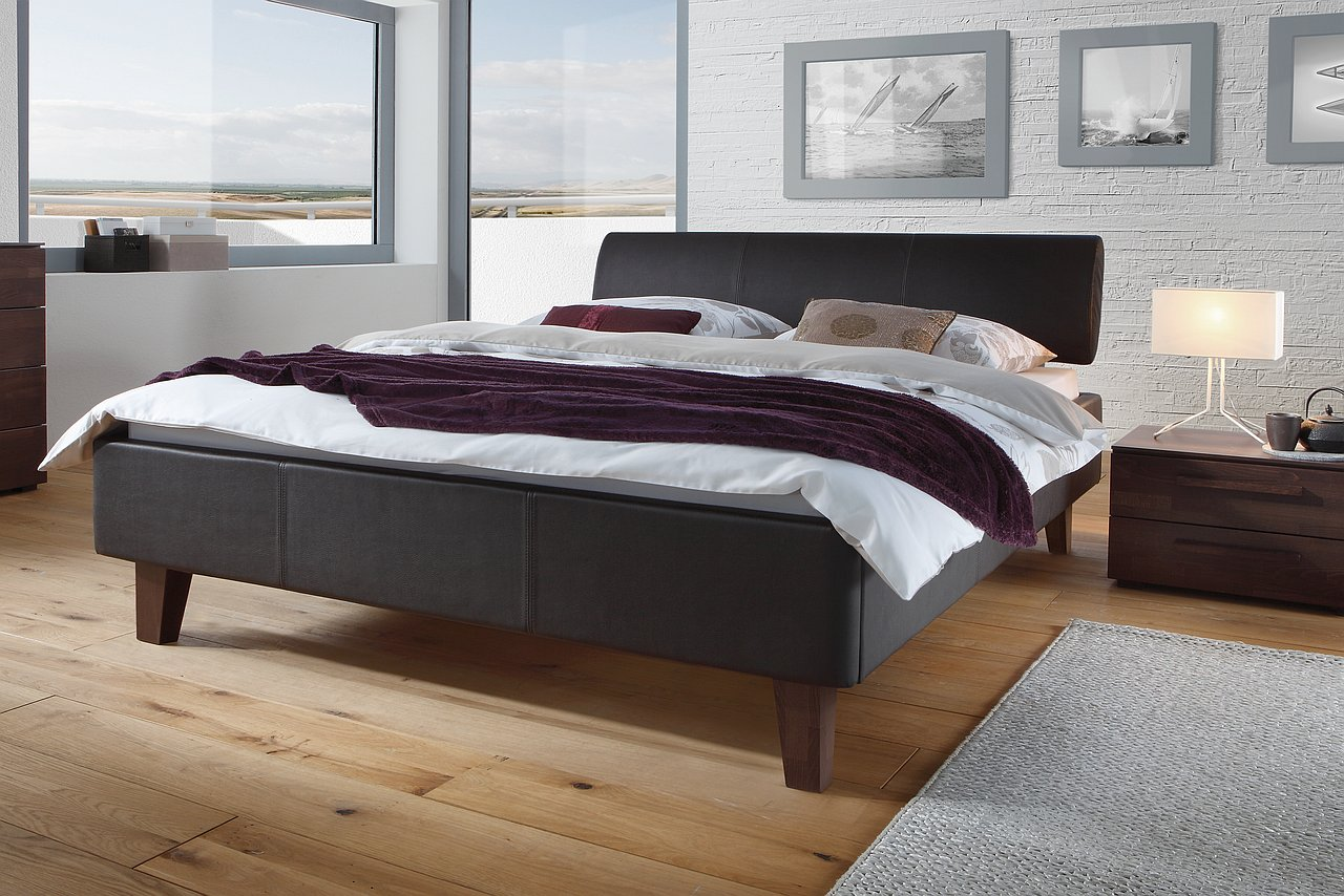 lag wien schwarze betten. Black Bedroom Furniture Sets. Home Design Ideas